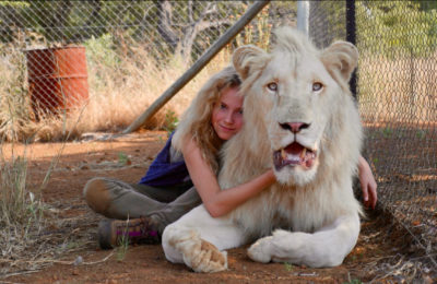 Mia and The White Lion, a story about the fate of lions in Africa